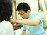 視診・触診・問診をいたします。